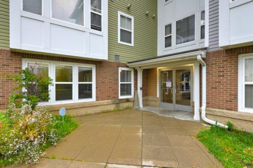 exterior and sidewalks